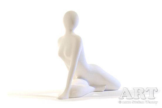 ... Skulptur im Akt