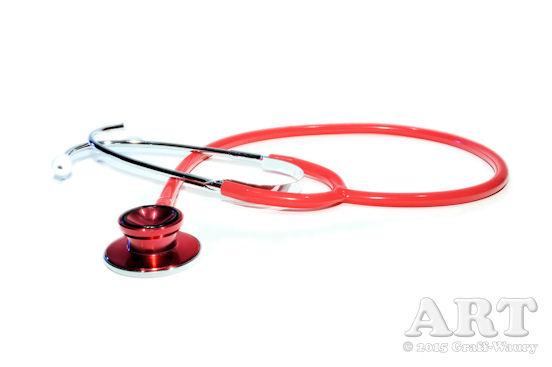 ... ein Stethoskop findet viele Anwendungen: Bei Doktorspielen, beim Babybauchshooting oder auch beim Akt-Shooting...